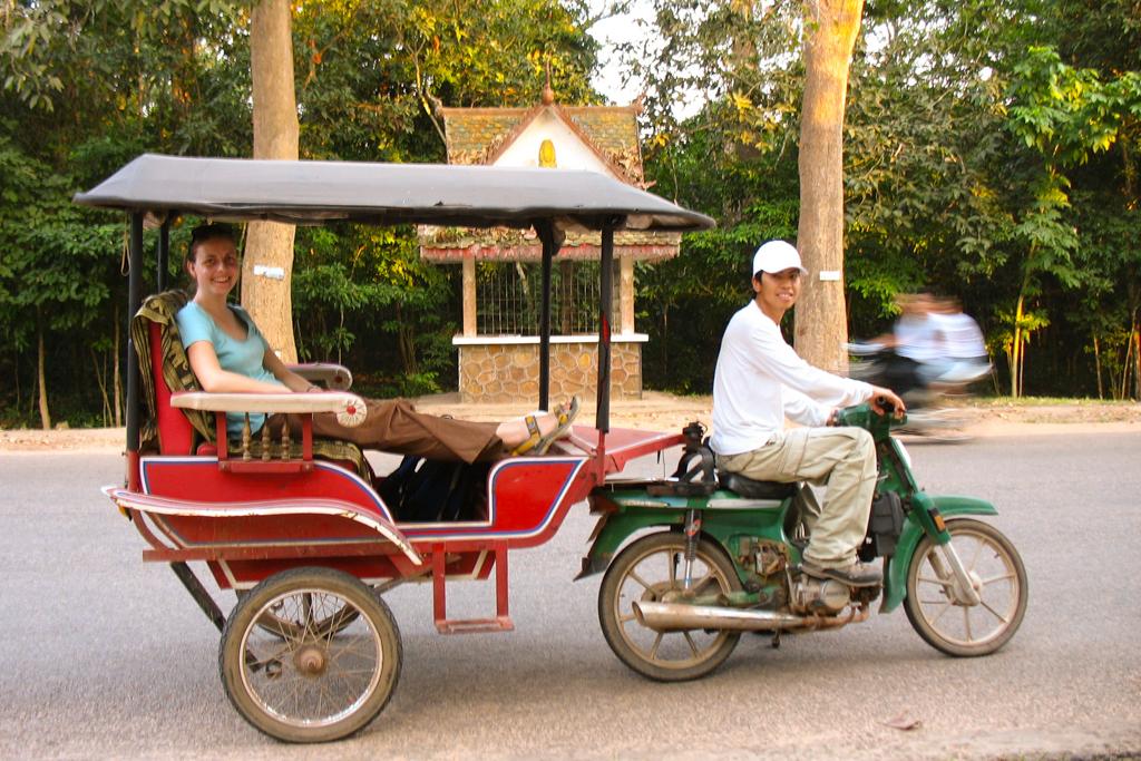 Cambodia Tuk Tuks