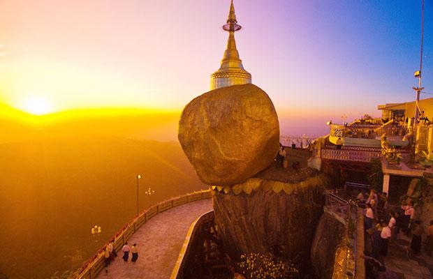 Golden Rock Pagoda | Passion Indochina Travel
