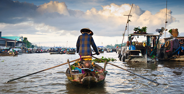 7-Day Bangkok and Ho Chi Minh Tour with Mekong Delta Cruise