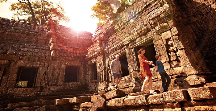 Angkor to Beach 7 Nights 8 Days
