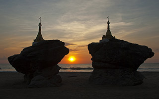 9-Day Yangon and Angkor Wat Tour with Beach Break